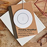Belkin Boost Up Wireless Charging Pad 7.5W – Wireless Charger for iPhone XS, XS Max, XR, X, 8, 8 Plus, Compatible with Samsung, LG, Sony and More Bild 6