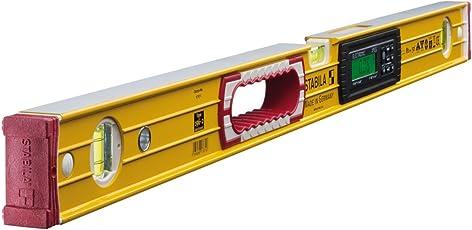 STABILA Elektronik-Wasserwaage Type 196-2 electronic IP 65, 81 cm, mit 2 Digital-Displays und Wasserwaagen-Tasche