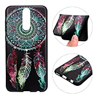 Huawei Mate 10 Lite Case, Huawei Mate 10 Lite Back Case, Rosa Schleife Ultra Thin Flexible Soft Gel TPU Silicone Bumper Phone Case Protective Cases Covers for Huawei Mate 10 Lite - Dream Catcher