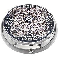 Pille Box (Standard Größe) in einem Arabesque Design in Lila Farbe preisvergleich bei billige-tabletten.eu