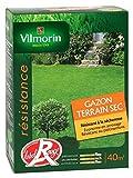 Vilmorin 4472053 Gazon Terrain Sec Boîte de 1 kg