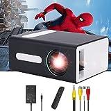 PADZUO Pro projector, draagbare mini-projector voor mobiele apparaten, compatibel met USB-hoofdtelefoonaansluiting, HDMI, TF,