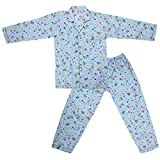 #10: Dhir Fashions Branded Comfortable Premium Value Ultra Soft Cotton Blue Night Suit