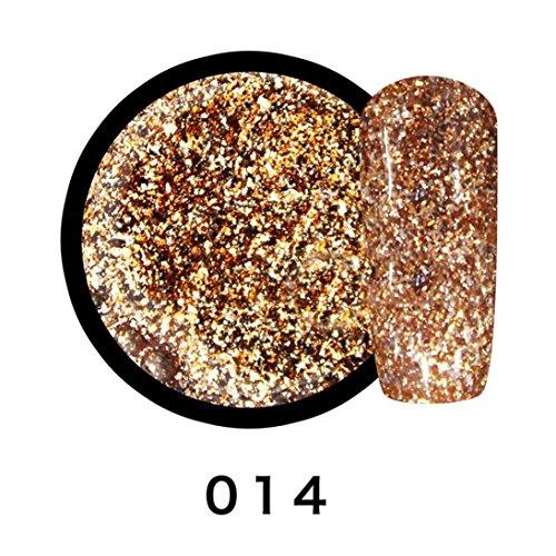 Colle à ongles, GreatestPAK 8ML UV Gel Glue Nail Glue Durable 14 Couleur (014, 1 PC)