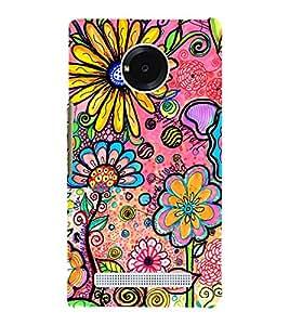 Sun Flower Garden 3D Hard Polycarbonate Designer Back Case Cover for YU Yureka Plus