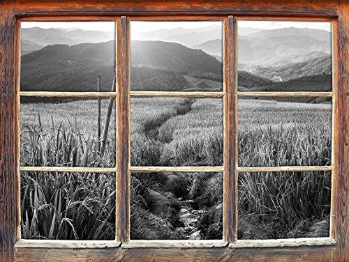paddy-plantation-en-asie-art-b-w-fenetre-en-3d-look-mur-ou-format-vignette-de-la-porte-62x42cm-stick
