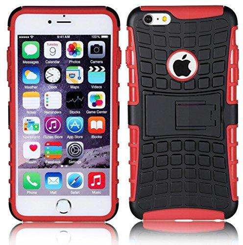 DN® Smart Schutzhülle für Apple iPod Touch 5und Apple iPod Touch 6, SLIM SURVIVOR RED, APPLE IPOD TOUCH 6 (Touch Ipod Cover 5 Smart)