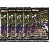 Yu-Gi-Oh! 5 Booster Packungen - Rivals of the Pharaoh - Duelist Pack - Deutsche Ausgabe