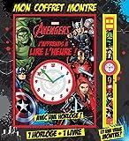 Avengers, Marvel, J'APPRENDS A LIRE L'HEURE + MONTRE