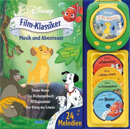 XENOS Film-Klassiker, Musik und Abenteuer, m. 4 Audio-CDs u. CD-Player