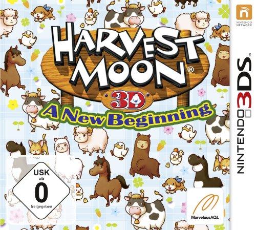 Harvest Moon 3D: A New Beginning - [Nintendo 3DS] - Braut-fans