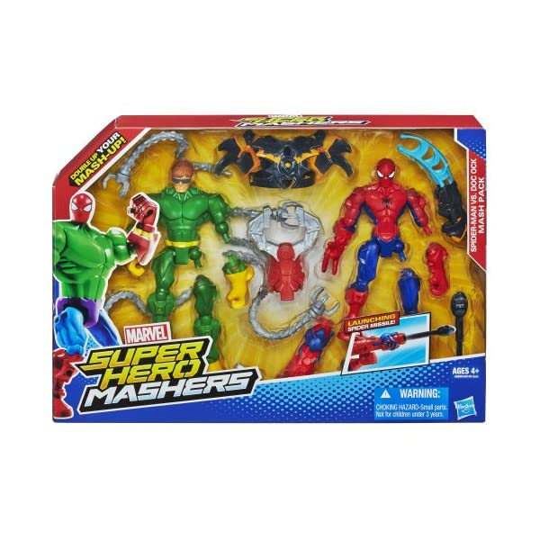 Marvel Super Hero Mashers Spider-Man vs. Doc Ock Mash Pack 2