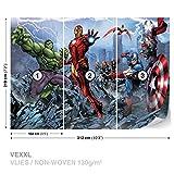 FORWALL Marvel Thor Movie Vlies Fototapete Tapete Vliestapete Dekoshop Marvel Avengers AD960VEXXL (312cm x 219cm) Photo Wallpaper Mural