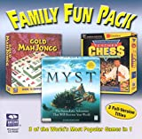 Family Fun Pack 3 Games (Jewel Case) - PC