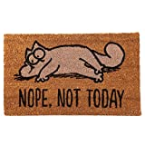 Puckator Simon's Cat Zerbino-Nope, Not Today, Fibra di Cocco, Marrone, 75 x 2 x 45 cm