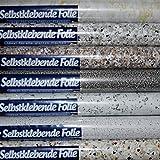 (058 (Granit-Antibaia) Möbelfolie Küchenfolie Klebefolie Dekofolie selbstklebende Folie 200 x 45cm