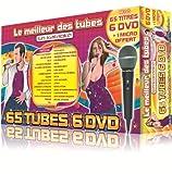 Le Meilleur Des Tubes En Karaoké : 2011 Coffret 6 DVD 65 Tubes + 1 Micro