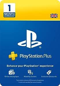 PlayStation Plus: 1 Month Membership | PS5/PS4 | PSN Download Code - UK Account