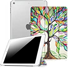 Fintie iPad mini 3 / 2 / 1 Funda - Soporte Plegable Smart Case Funda Carcasa con Stand Función y Auto-Sueño / Estela para Apple iPad mini 1 2 3, Love Tree