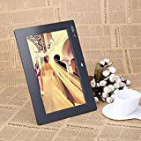 Andoer 10 '' Digital Photo Frame HD TFT-LCD 1024 * 600 Sveglia MP3 MP4 Movie Player con Remote Desktop