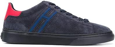 Hogan Luxury Fashion Uomo HXM3650J301NZ8206N Blu Camoscio Sneakers | Primavera-Estate 21