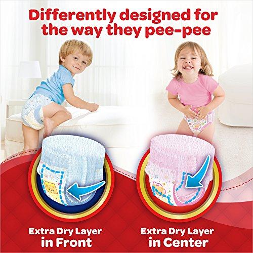 Huggies Ultra Soft Pants Medium Size Premium Diapers For Girls 2 X 30 Counts