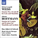 Weiss: Sonatas for Baroque Lute