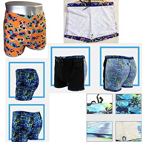 Bunte Schwimmhosen Schwimmen Strumpfhosen Kurze Schwimmkörbe für Männer mutlicolor12