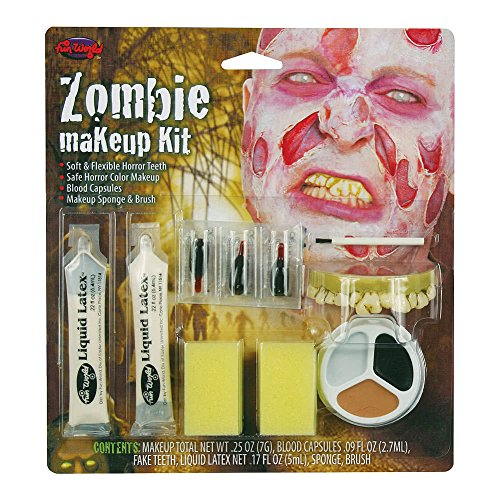 Zombie Make Up Kit. Male by Bristol Novelties