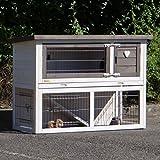 Animalhouseshop.de Kaninchenstall Marianne mit Nageschutz 111x45x78cm