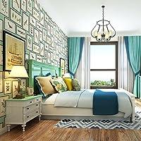 BBSLT Paese americano wallpaper camera da letto soggiorno TV sfondo fiore decorativo photo frame di ingresso della carta da parati in Inghilterra , 2