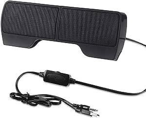P01c 6w Mini Tragbarer Lautsprecher über 3 5mm Klinke Usb Für Laptop Pc Notebook 2x 3