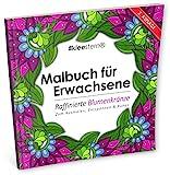 Malbuch für Erwachsene: Raffinierte Blumenkränze zum Ausmalen, Entspannen & Ruhen