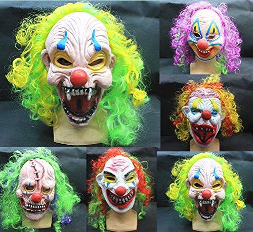 Maske Teufel Clown Face lustig Terror beängstigend Maskerade Maske (Lustig, Beängstigend Masken)