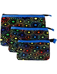 Multi Purpose Pouches And Bag(Set Of 3 L/M/S)Digital Printed - B019F8ZCF0