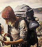 Nature's Hang Camping Kochgeschirr - Outdoor Campinggeschirr Set 1-2 Personen 10-tlg. Kochausrüstung Topf & Pfannen-Set Aluminum Besteck Edelstahl -