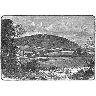 SHROPS. Wrekin, from Charlton - 1898 - old antique vintage print - art picture prints of Shrops