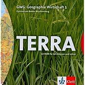 TERRA GWG (Geographie-Wirtschaft), Ausgabe Gymnasium Baden-Württemberg, Bd.1 : 5. Schuljahr, 1 CD-ROM für Lehrerinnen und Lehrer Für Windows 95/97/NT/XP und MacOS ab 8.6