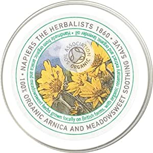 Napiers Organic Arnica and Meadowsweet Soothing Skin Salve