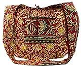 Guru-Shop Sadhu Bag, Umhängetasche, Blockdruck Hippie Schultertasche - Rot, Herren/Damen, Mehrfarbig, Baumwolle, Size:One Size, Bunter Stoffbeutel