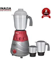 Inalsa Jazz Dx 750-Watt Mixer Grinder with 3 Jars