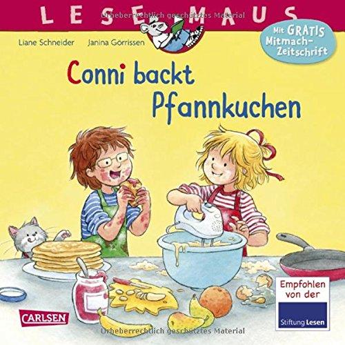 Conni backt Pfannkuchen (LESEMAUS, Band 123)