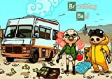 Poster BREAKING BAD cartoon