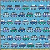 0,5m Jersey Wohnwagen türkis Caravan * Kinderstoff *