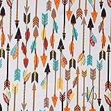 MIRABLAU DESIGN StoffverkaufBaumwolle Popeline Indianer