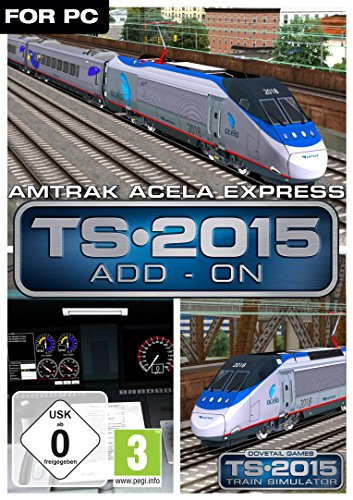 Train Simulator 2015 Amtrak Acela Express