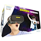 VR Headset + Maths educational games [times tables subtraction…] for kids 5 6 7 8…12 years old [Fun games] VR Maths set [3D g