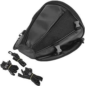 Tankrucksack Für Motorrad Universal Seitlicher Tank Multifunktional Rücksitz Für Fahrer Aus Kunstleder Wasserdicht Auto