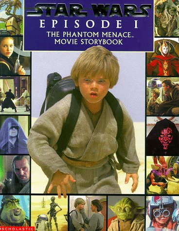 The phantom menace movie storybook.