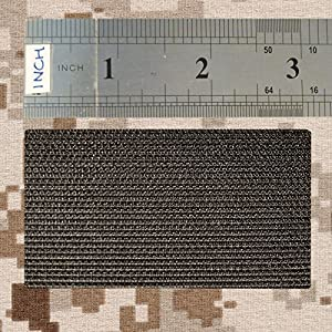 All Black ACU Dark Subdued USA American Drapeau Morale PVC Gomme Fastener Écusson Patch